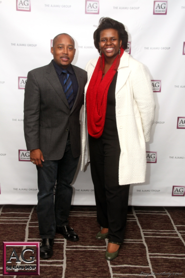 Abenaah Nefertari and Daymond John